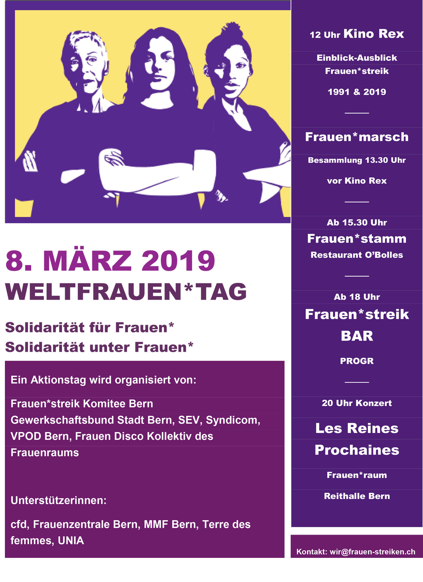 Weltfrauentag 8
